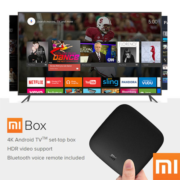 Xiaomi MI BOX Smart Set top TV-Box 4K-Quad-Core-WIFI