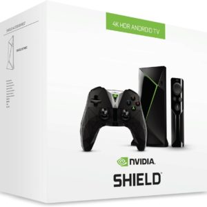 NVIDIA SHIELD TV Yekutsikisa Media Player ine Remote & Game Controller